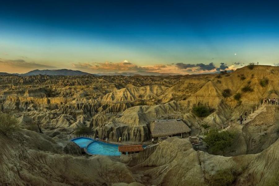 Los Hoyos, desierto de la Tatacoa - Municipio de Villavieja