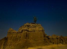 Noche en el desierto de La Tatacoa- Municipio de Villavieja
