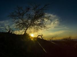 Atardecer en el desierto de La Tatacoa - Municipio de Viillavieja