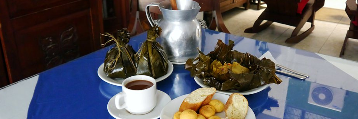 Desayuno típico Huilense